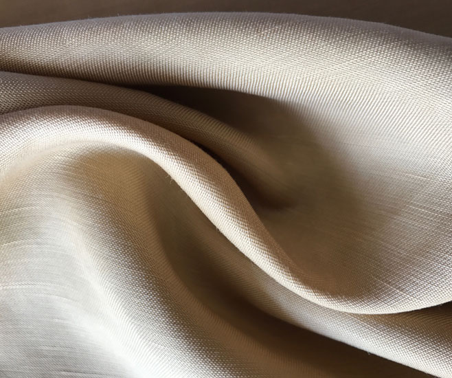 Cupro Cotton Ramie Fabric